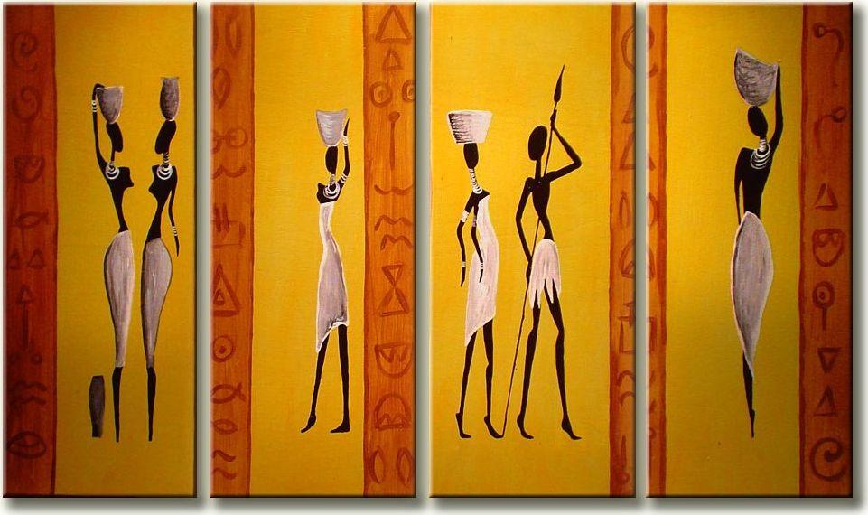 Keturiu daliu piestas paveikslas Afrika 5702356