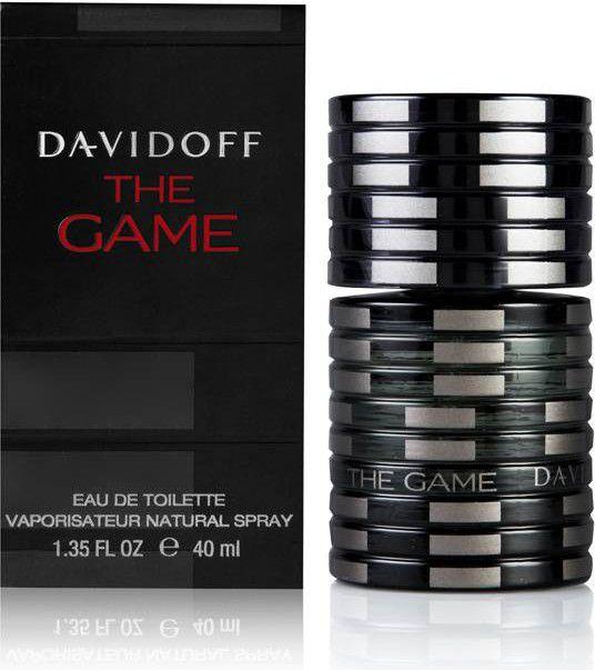 Davidoff The Game EDT 40ml 3607341186393 Vīriešu Smaržas