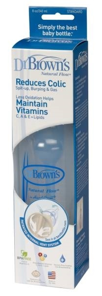 Dr. Browns Butelka 250 ml (QU0005) QU0005 aksesuāri bērniem