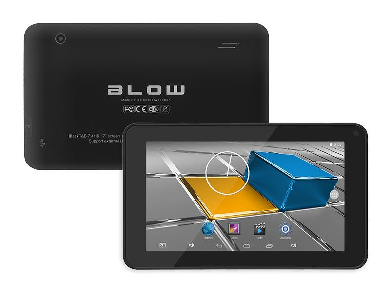 Tablet BLOW BlackTAB7.4 HD - AFTER REPAIR Planšetdators