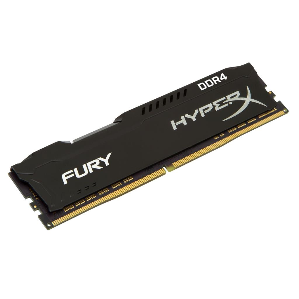 Kingston HyperX Fury 8GB 2933MHz DDR4 DIMM CL17 - black operatīvā atmiņa