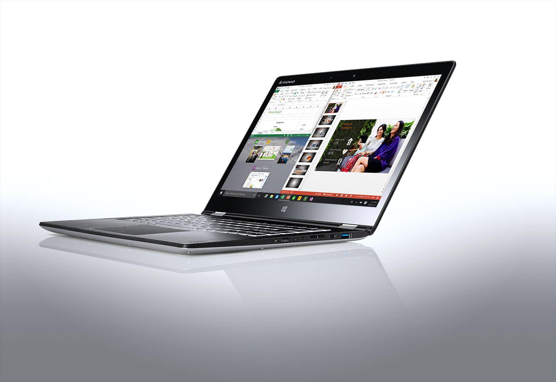 Notebook Lenovo YOGA 700  i5-6200U 4GB 14  FHD 500+8GB HD 520 Win10 Silver 80QD00ACPB 2Y Portatīvais dators