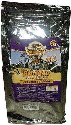 Wildcat Bhadra - horse meat and sweet potatoes 500g kaķu barība