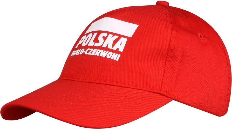 Sportech Czapka z daszkiem kibica Polska Bialo-Czerwoni czerwony roz. uniw (S337921) S337921