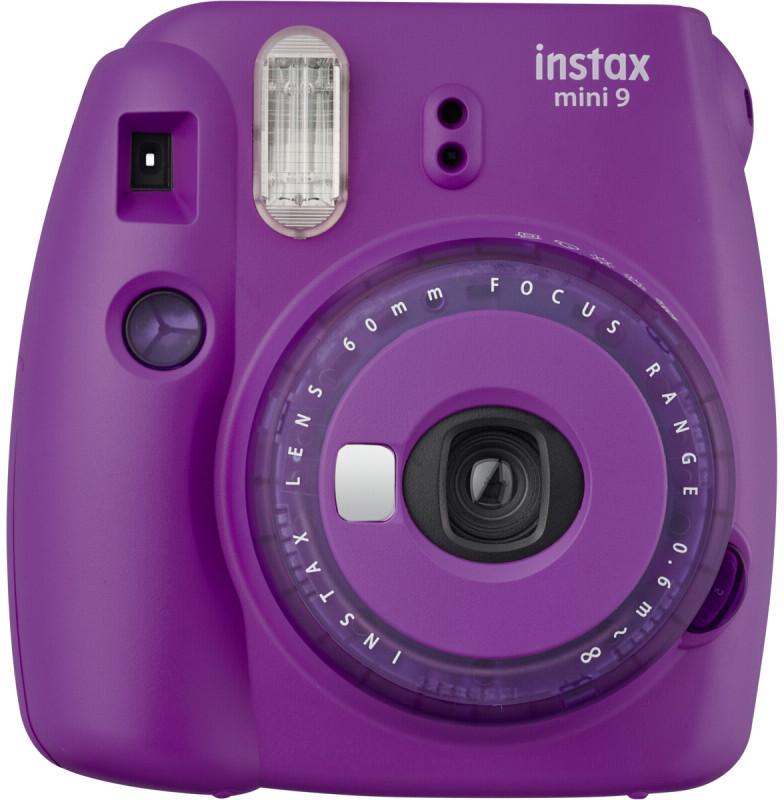 Fujifilm Instax Mini 9, spilgti violets 4547410414141 4547410414141 Digitālā kamera