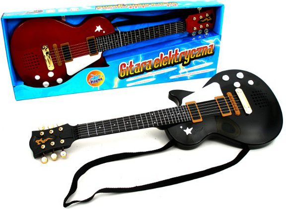 Playme Rock guitar with strings - 1562883