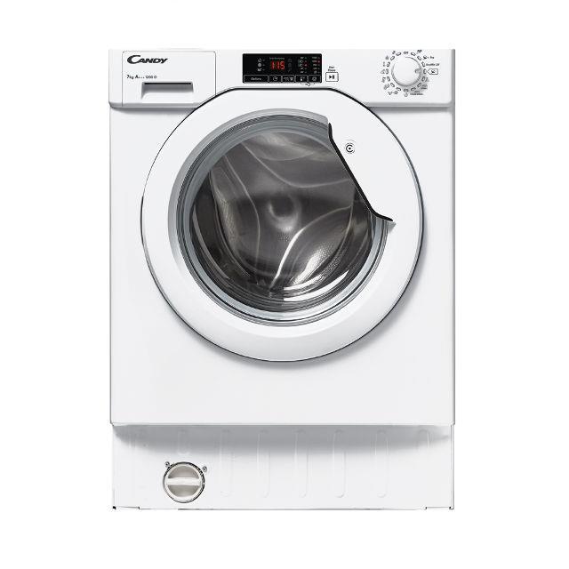 Washing machine Candy CBWM712D-S | 7 kg 1200 obr. A+++ CBWM712D-S Iebūvējamā veļas mašīna
