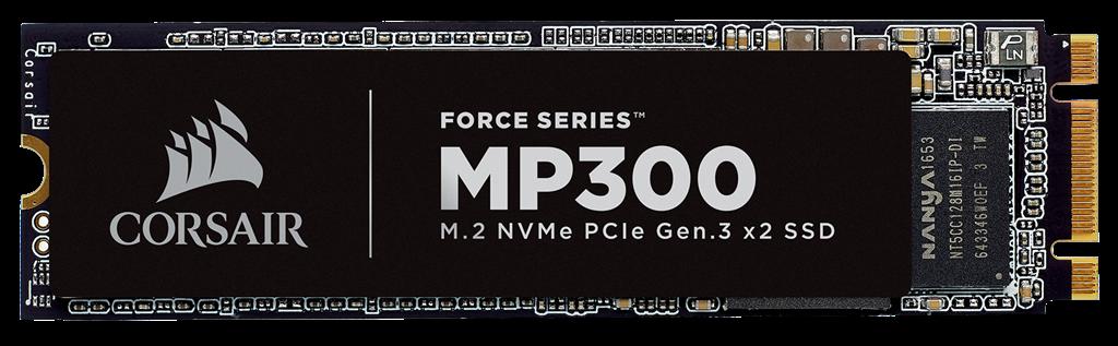 Corsair Force Series MP300 M.2 PCIe NVMe 120GB SSD disks
