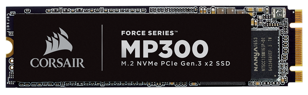 CORSAIR SSD 480GB MP300 NVMe PCIe M.2 SSD disks