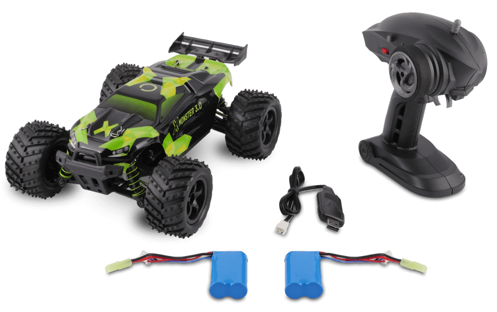 Radio-controlled car X-MONSTER 3.0 Radiovadāmā rotaļlieta