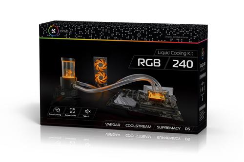 EK Water Blocks EK-KIT RGB 240 ūdens dzesēšanas sistēmas piederumi