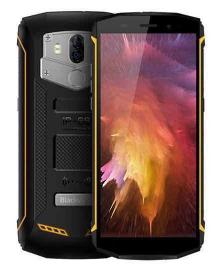 Blackview BV5800 Dual SIM 16GB yellow Mobilais Telefons