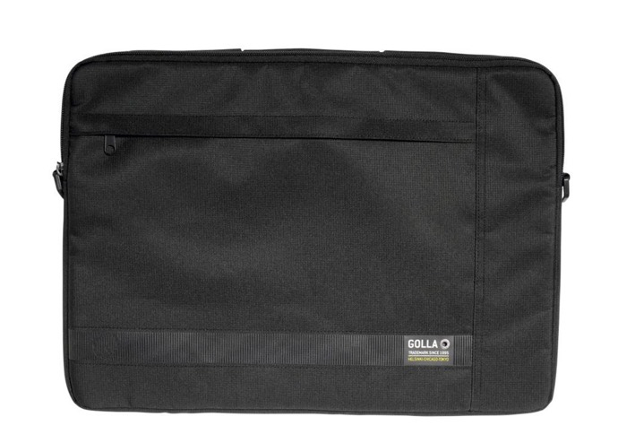 Golla OWEN 17.3'' G1455 LAPTOP TOP LOAD BAG SLING SLEEVE BLACK portatīvo datoru soma, apvalks