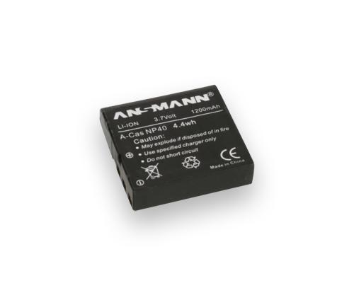 Ansmann A-Cas NP-40 LI 3.7V/ 1200mAh Baterija