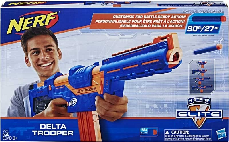 Hasbro Nerf N-Strike Elite Delta Trooper Rotaļu ieroči