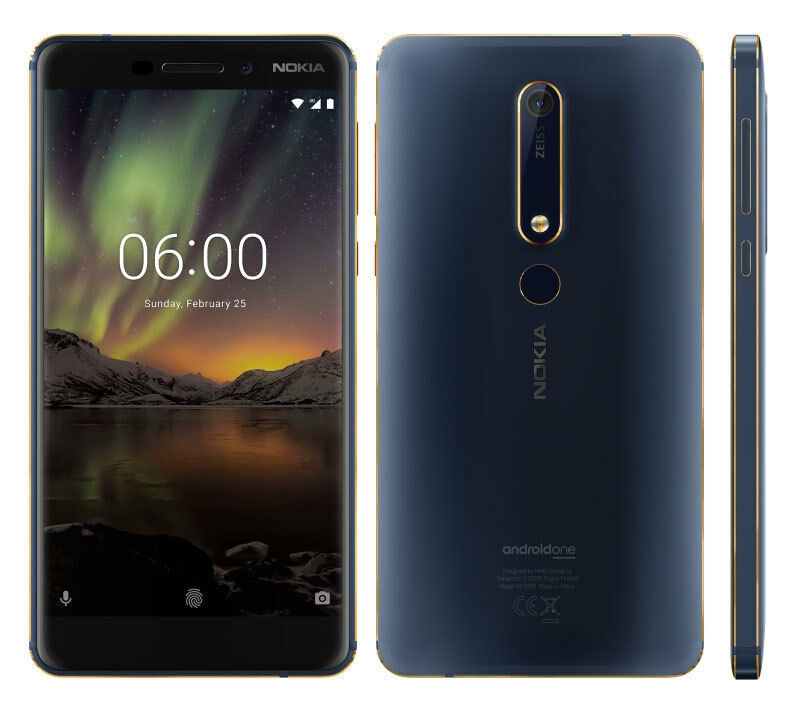 Nokia 6.1 3/32  Blue Mobilais Telefons
