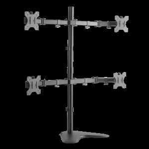 LOGILINK - Quad monitor desk stand,13-32'', max. 8 kg
