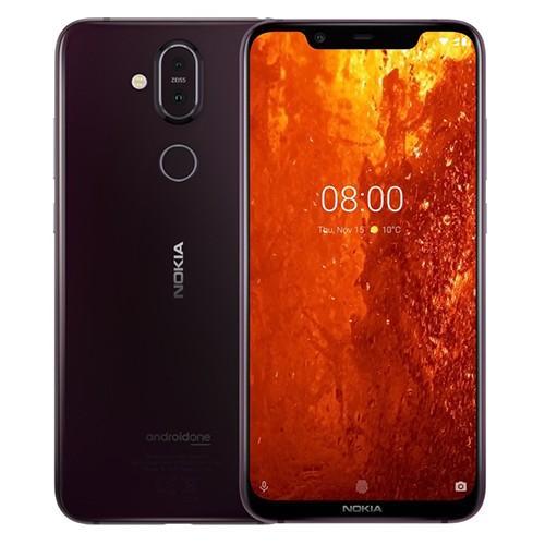 Nokia 8.1 - 6.18 - 64GB (iron / purple, Dual SIM, Android) Mobilais Telefons