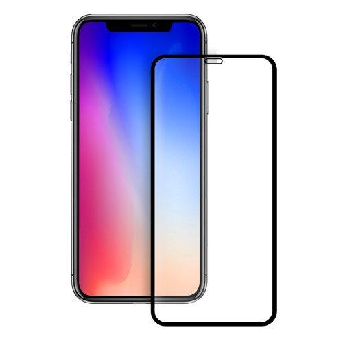 Mocco Full Face 5D Tempered Glass Aizsargstikls Pilnam Ekrānam Apple iPhone XS Max Melns aizsardzība ekrānam mobilajiem telefoniem