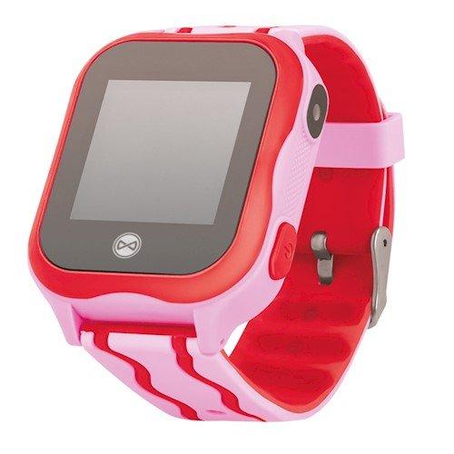Forever Smart KW-300 See Me Super Viegla Bērnu GPS Wi-Fi / IP67 / LBS Locating / SMS / Zvana Funkcija Viedais pulkstenis, smartwatch