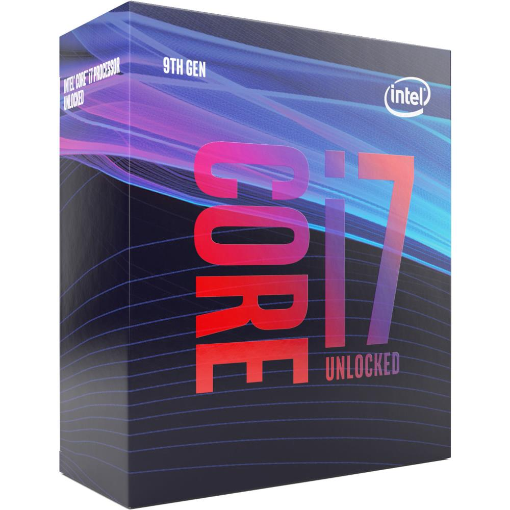INTEL Core i7-9700K 3.60GHz Boxed CPU CPU, procesors