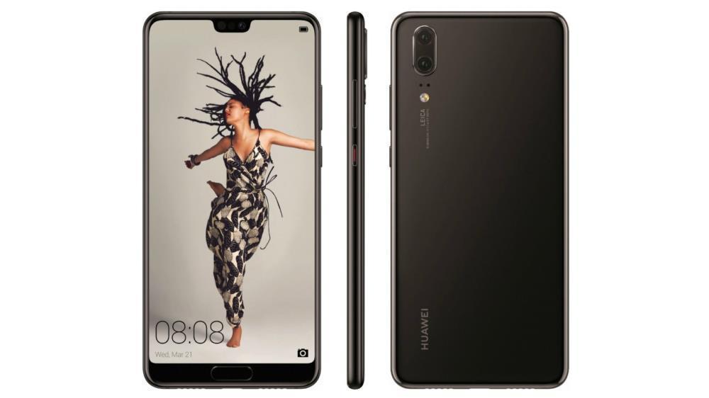 HUAWEI P20 BLACK 64 GB Mobilais Telefons