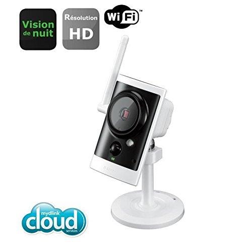 D-Link HD Wireless N Day/Night Outdoor Cloud Camera  with 16GB micro SD card novērošanas kamera