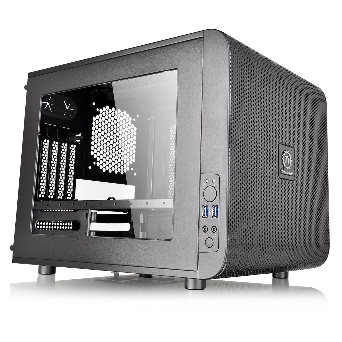 THERMALTAKE Core V21 Micro ATX Tower Datora korpuss