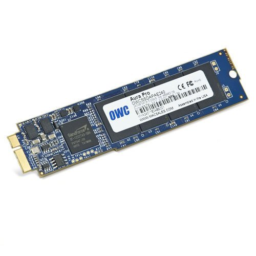 OWC Aura Pro SSD 480GB  Macbook Air 2010/2011 SSD disks