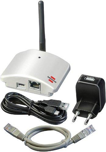 Home Automation Gateway Brennenstuhl Brematic GWY 433 silver
