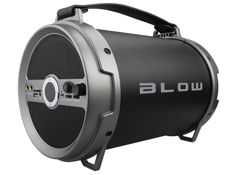 Blow Bluetooth speaker  BT-2500 BLACK pārnēsājamais skaļrunis