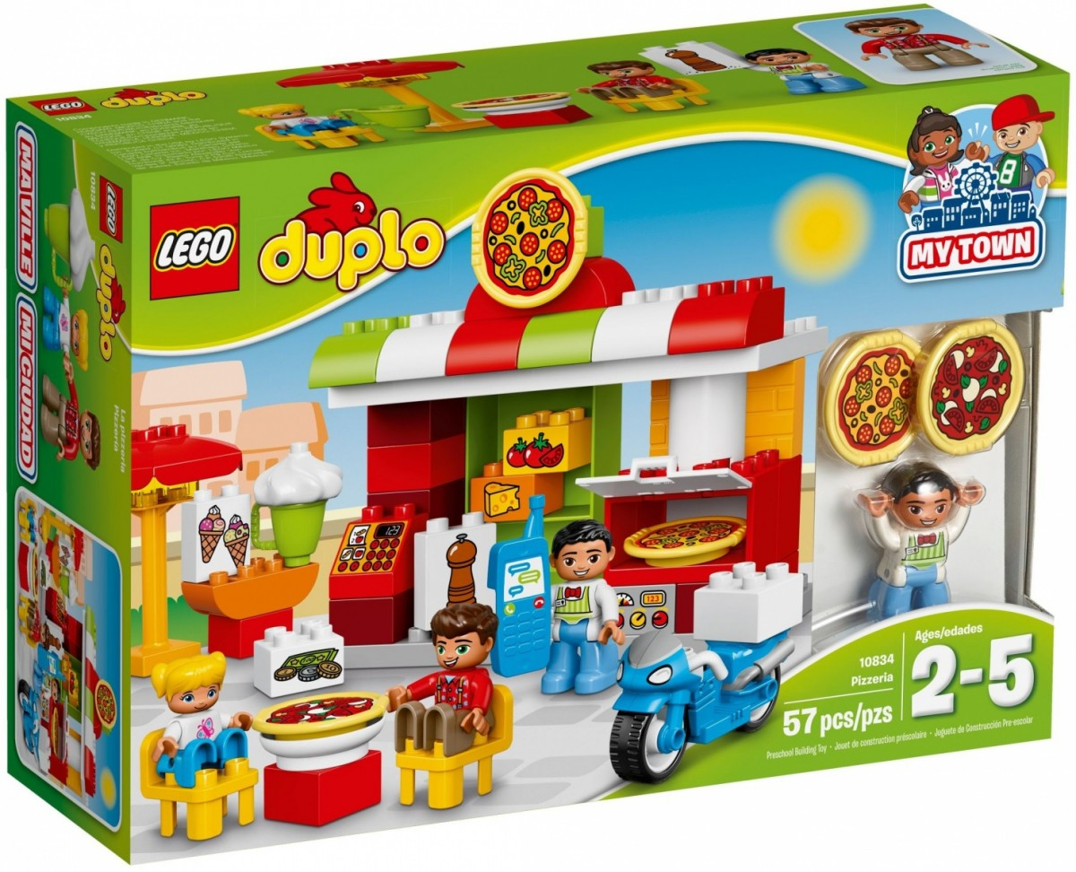 Lego Duplo Pizzeria 10834 LEGO konstruktors