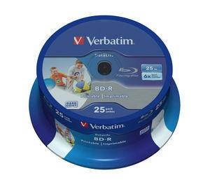 Verbatim 43811 BD-R 25GB 25x (6x) wide printable matricas