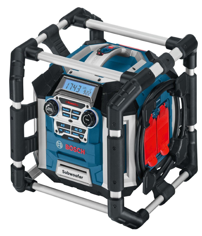 Bosch GML 50 Professional PowerBox GML 50 blue (0.601.429.600) radio, radiopulksteņi