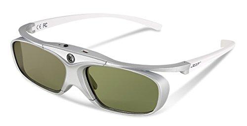 Acer DLP 3D glasses E4w, White/Silver, projektora aksesuārs