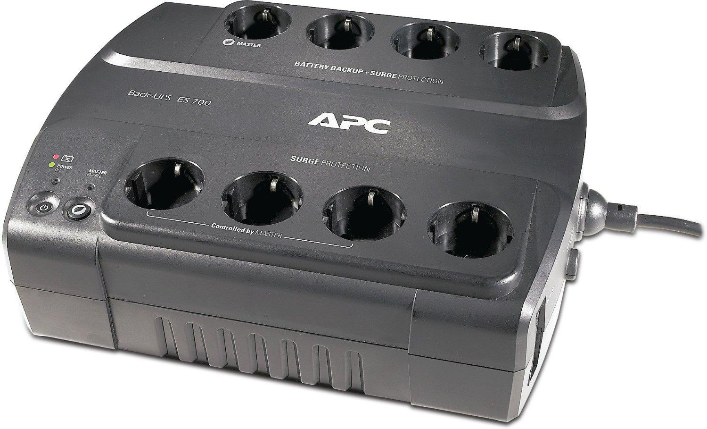 APC Power-Saving Back-UPS ES 8 Outlet 700VA 230V CEE nepārtrauktas barošanas avots UPS