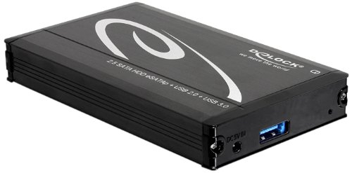 Delock  2.5 USB3.0/Multiport, Black Serial ATA, Serial ATA II