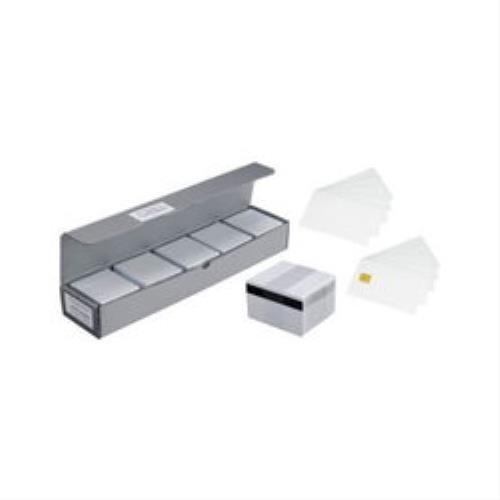 Zebra PVC, White Cards, 500 cards 30 mil, 0,76mm uzlīmju printeris