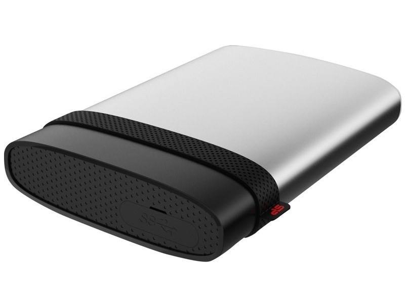 SILICON POWER 2TB, USB3, PORTABLE HARD DRIVE ARMOR A85, SILVER Ārējais cietais disks