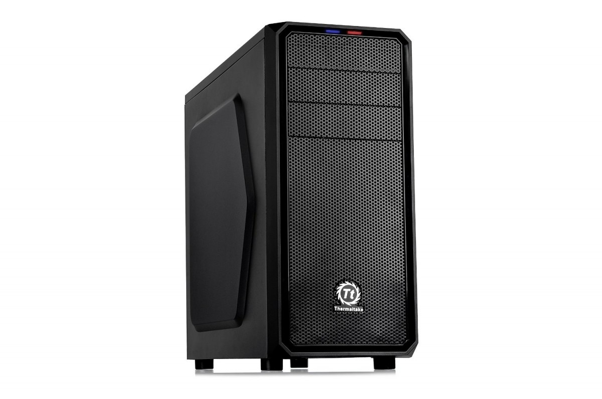 THERMALTAKE Versa H25 Midi Tower black Datora korpuss