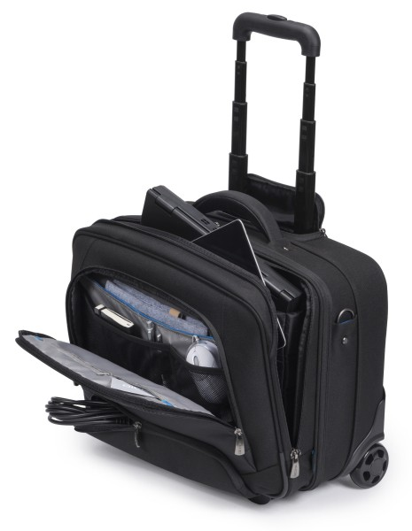 Dicota Multi Roller PRO 13 - 15.6 Trolley case for notebook and clothes portatīvo datoru soma, apvalks