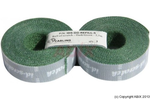 Patchsee ID-Scratch Refill green 2x2,5m - for cable ties