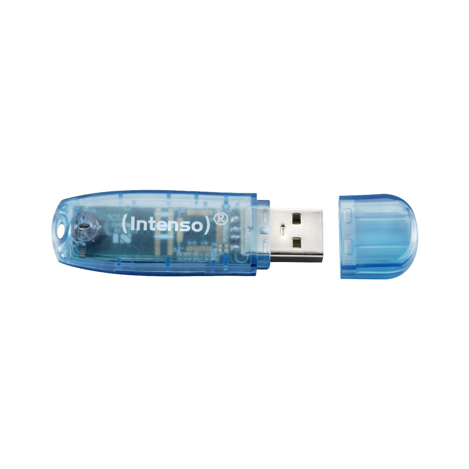 Intenso  4GB Intenso 2.0 version blue USB Flash atmiņa