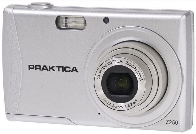 Digital camera PRAKTICA  luxmedia Z250 silver Digitālā kamera