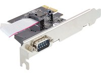 Delock  1 x Serial, PCIe, Low Profile karte
