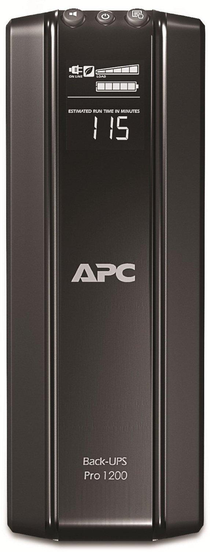 APC BACK-UPS PRO 1200 230V nepārtrauktas barošanas avots UPS