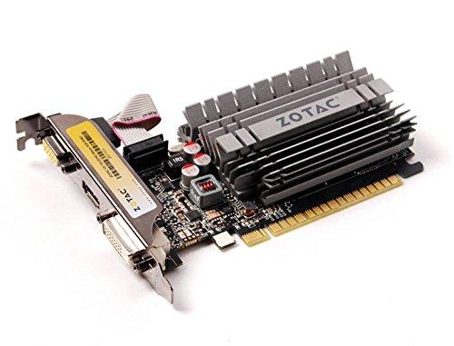 ZOTAC GeForce GT 730 ZONE Edition Low Profile, 2GB DDR3 (64 Bit), HDMI, DVI, VGA video karte