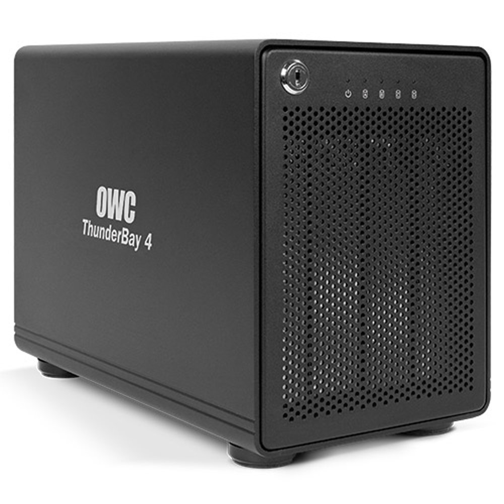 OWC  OWC ThunderBay 4 bay, 0GB No hard drives included