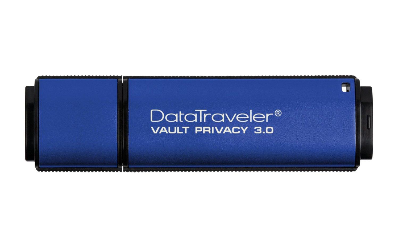 Kingston USB DataTraveler 32GB DTVP30, 256bit AES Encrypted USB 3.0 USB Flash atmiņa