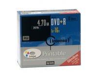 Intenso DVD+R 4.7GB 16X  10er Pack matricas